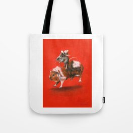 Rodent Rodeo Tote Bag