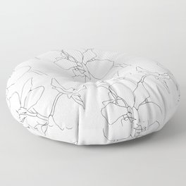 orchids Floor Pillow