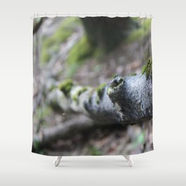 Hiking for photographs Shower Curtain