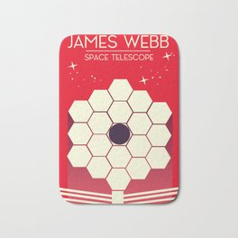 james webb space telescope, Bath Mat