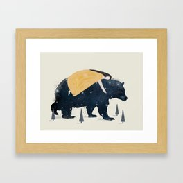 inner wilderness Framed Art Print