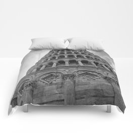 Leaning Tower of Pisa Comforters