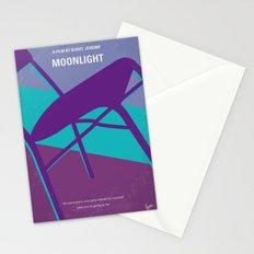 No757 My Moonlight minimal movie poster Stationery Cards
