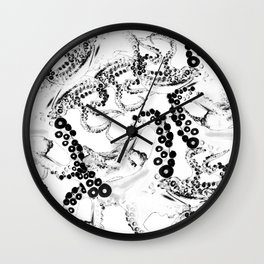 Space Invaderz_anime Wall Clock