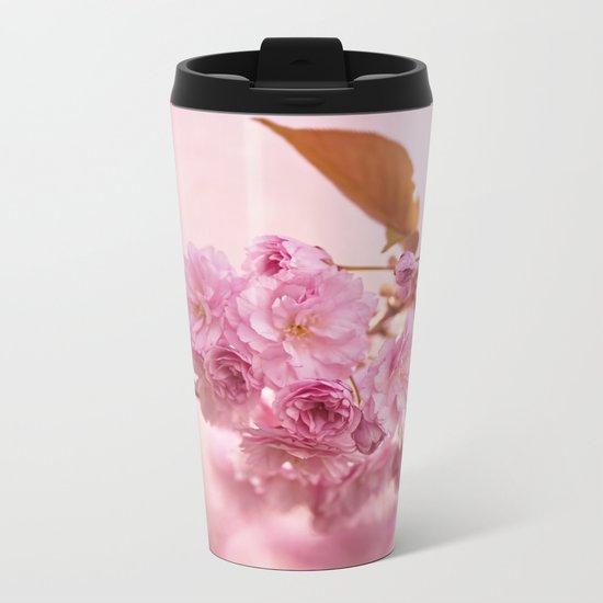 Sakura - Cherryblossom - Cherry blossom - Pink flowers 1 Metal Travel Mug