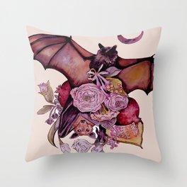 Fruit Bats Throw Pillow