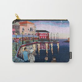 Greece: A Night in Chania, Crete Carry-All Pouch