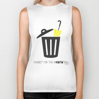 himym Biker Tanks featuring Thanks for this HIMYMfinal by Violet's Corner