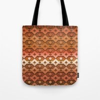 copper Tote Bags featuring Copper by Lyle Hatch