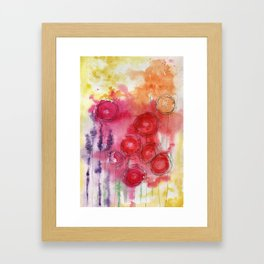 Blooming Beauty Framed Art Print