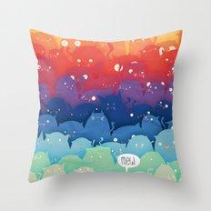 Cats Galore!  Throw Pillow