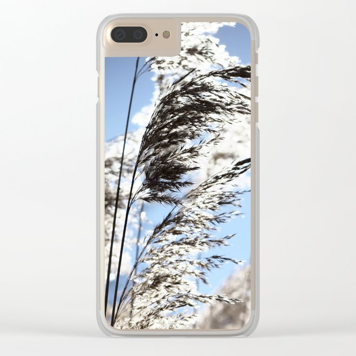 Herbs at noon Clear iPhone Case