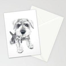 Schnozz the Schnauzer Stationery Cards