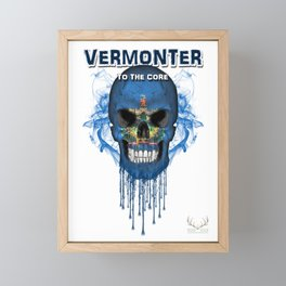 To The Core Collection: Vermont Framed Mini Art Print