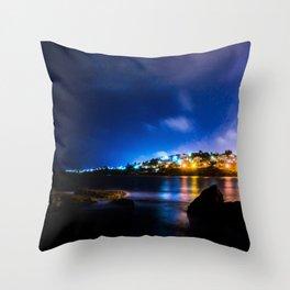 Coogee Lights Throw Pillow
