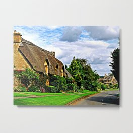 Picturesque Chipping Campden Metal Print