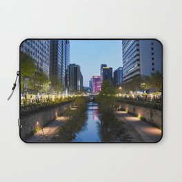 Stream at night Laptop Sleeve