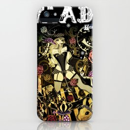 MAD ALICE: HATTER iPhone Case