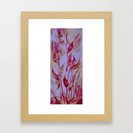 Butterfly Attraction Framed Art Print