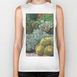 Cactus Garden #1 Biker Tank