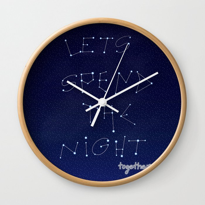 let's spent Wall Clock