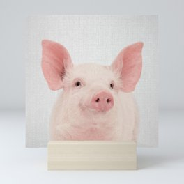 Pig - Colorful Mini Art Print