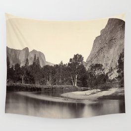 View from Camp Grove, Yosemite Wall Tapestry