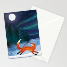 Northern Skies Stationery Cards