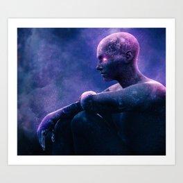 Dust Art Print