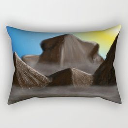 World of Illusion Rectangular Pillow
