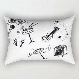 Music inverted Rectangular Pillow