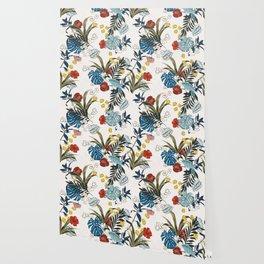 Tropical pattern Wallpaper