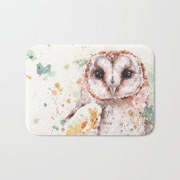 Australian Barn Owl Bath Mat