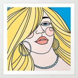 Love to Hate Art Print