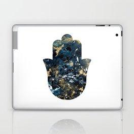 Hamsa in Outer Space Laptop & iPad Skin