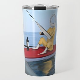 Corky's fishing Travel Mug