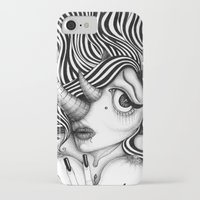 selfie iPhone & iPod Cases featuring Selfie by Anca Buzilan