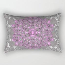 Mandala Pattern with Glitters II Rectangular Pillow