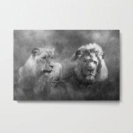 Lion's Pride Metal Print
