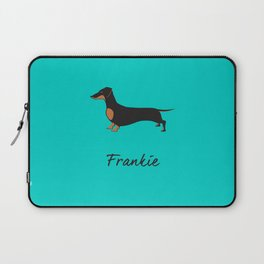 Frankie the Dachshund Laptop Sleeve