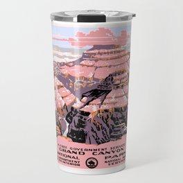 1938 Grand Canyon National Park Travel Poster Travel Mug