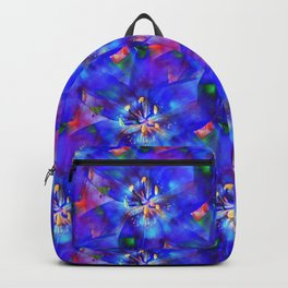 Flashy Flower Backpack