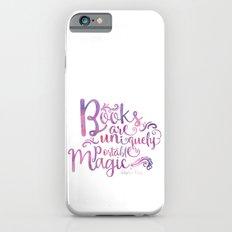 Books are Uniquely Portable Magic iPhone 6s Slim Case