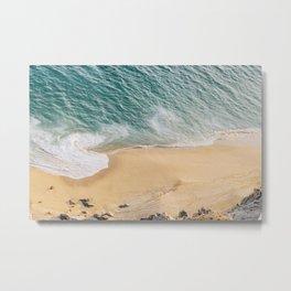 Ocean Swirl Metal Print
