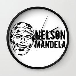 Nelson Mandela South African anti-apartheid revolutionary, political leader, and philanthropist Wall Clock