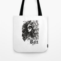 dragon ball Tote Bags featuring BALL by TOO MANY GRAPHIX