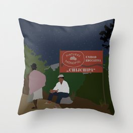 Afrobolivian Throw Pillow