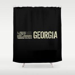 Black Flag: Georgia Shower Curtain