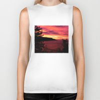 big sur Biker Tanks featuring Sunset * Big Sur, California by John Lyman Photos