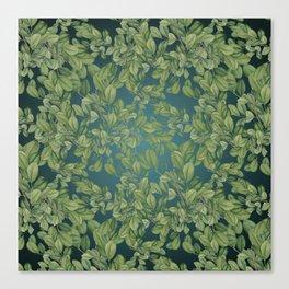 Verdant Leaves Canvas Print